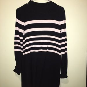 Free People Dresses - Free People Striped Sweater Dress